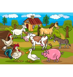 Next farm animals m vector