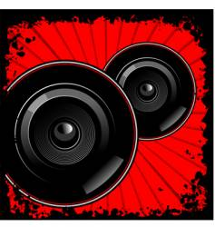 sub-woofers vector image vector image