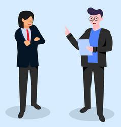 businessman website vector image