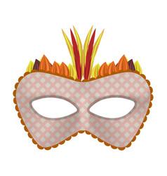celebration carnival mockup realistic style vector image
