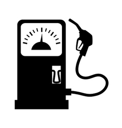 Gas station dispenser icon vector image