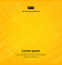 texture background of yellow fabric vector image