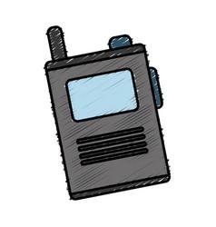 walkie talkie icon vector image