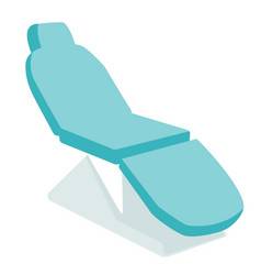 dental chair cartoon vector image vector image