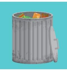 Trash can icon xxl vector image