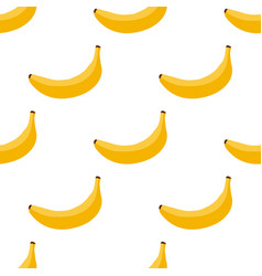 seamless background of exotic fruit bananas vector image vector image