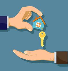 buying real estate vector image