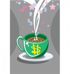 Cheap coffee vector