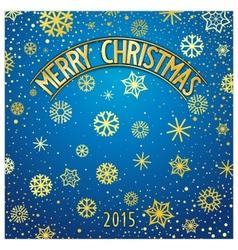 Christmas festive lettering vector