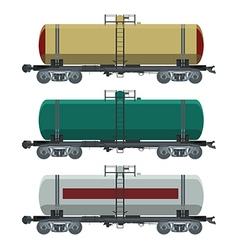 Cistern car vector