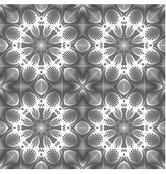 design seamless monochrome decorative pattern vector image