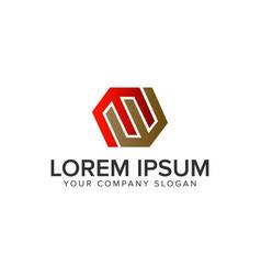 letter e synergy logo design concept template vector image