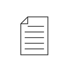 Note outline icon vector
