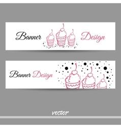 SweetsBanners vector image