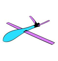 glider icon icon cartoon vector image vector image