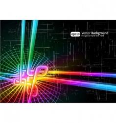 retro grunge background vector image vector image