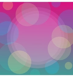 Abstract pattern background with bubbles vector image