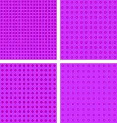 Purple seamless pattern vector