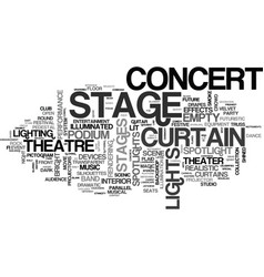 Stages word cloud concept vector
