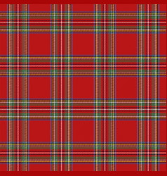 Tartan pattern scottish cage background vector