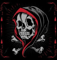The Reaper and Bone Cross vector