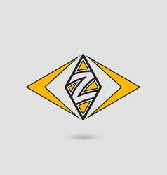 z letter logotype vector image