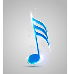 blue note vector image