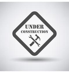 Under construction icon vector image