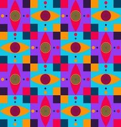 dizzy eyes pettern vector image vector image