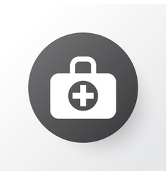 aid icon symbol premium quality isolated surgical vector image
