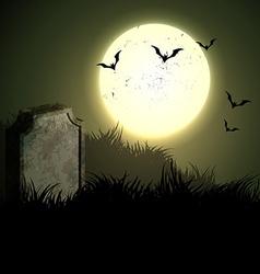 Creepy halloween night vector