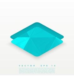 design rhombus vector image