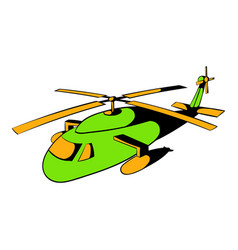 Helicopter icon icon cartoon vector