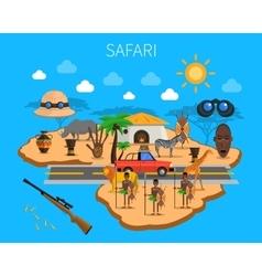 Safari Concept vector image