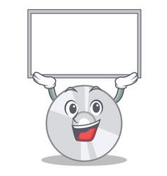 up board cd character cartoon style vector image