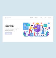 web site design template business vector image