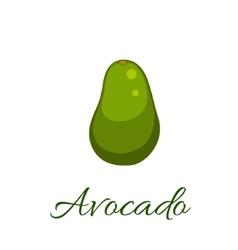 Avocado icon vector image vector image