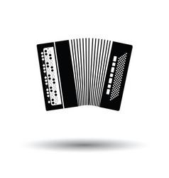 accordion icon vector image