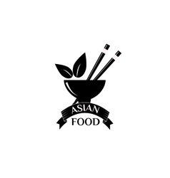 Asian food logo vector