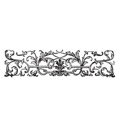 Banner have floral arrangements in this picture vector