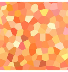 bright red and orange pattern vector image