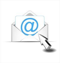 Click e mail vector