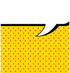 Imagination comics icon over yellow background vector