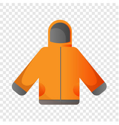 ski jacket icon cartoon style vector image