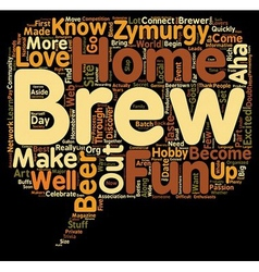 Zymurgy Lovers You Know text background wordcloud vector