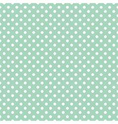 Seamless pattern polka dots vector image