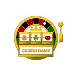 Slot-Machine-Logo-380x400 vector image