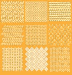 java batik pattern collection vector image vector image