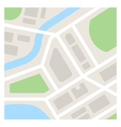 Simple map vector