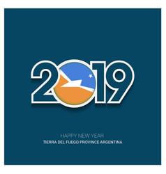 2019 tierra del fuego province argentina vector